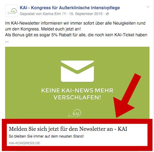 Facebook Metadaten