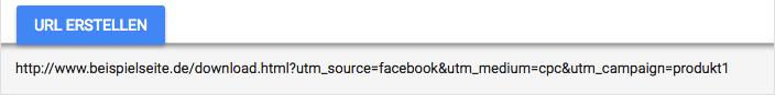 Tracking URL Beispiel
